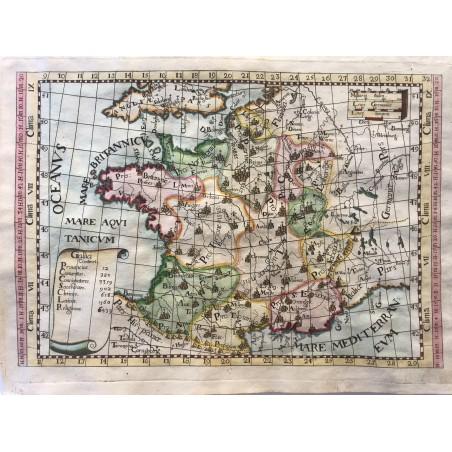 Carte de France, Monteccalerio, 1712