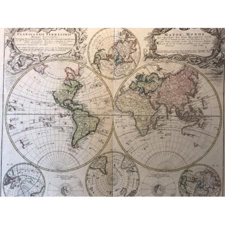 Mappe-Monde, HOMMAN , 1746