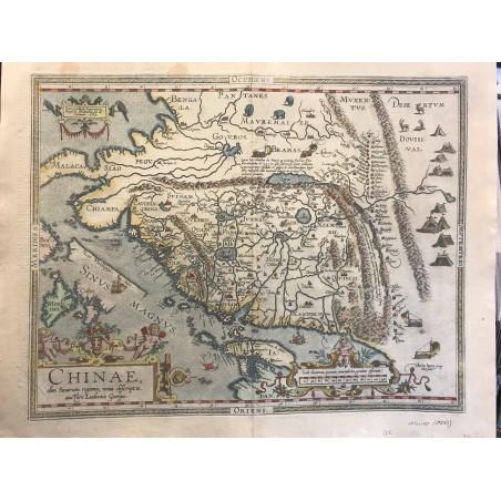CHINAE, Abraham ORTELIUS, 1587