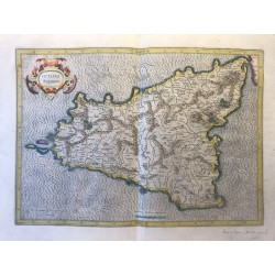 Sicilia Regnum, G. MERCATOR, 1619
