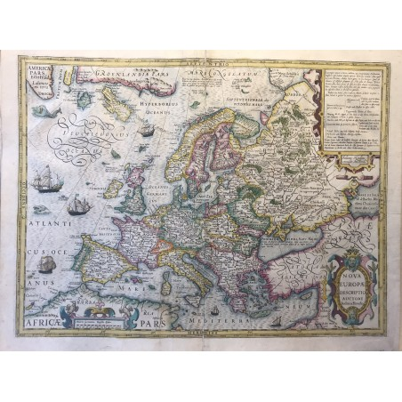NOVA EUROPA, Jodoco HONDIUS, 1630