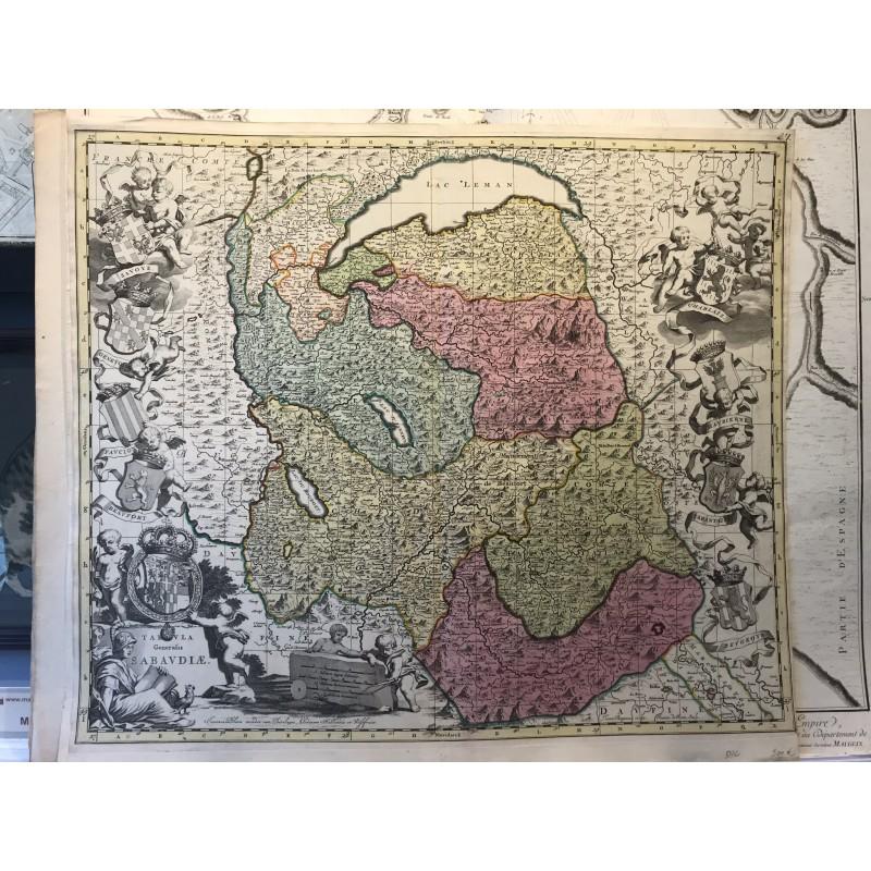 bula generalis Sabaudia, Blaew 1650