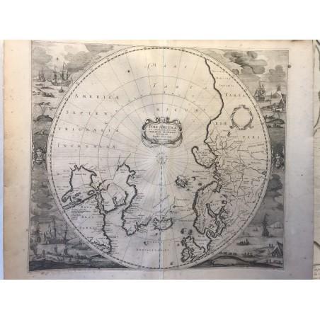 POLI ARCTICI, HONDIUS, 1636