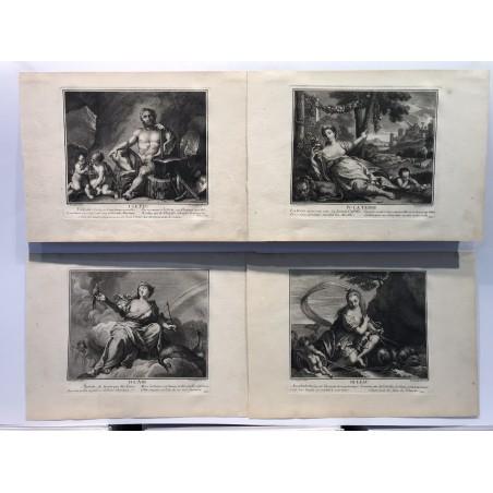 Les 4 éléments, Vaughels, Jeaurat 1716
