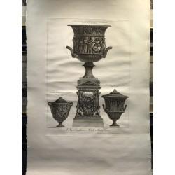 Vaso antico di marmo,...