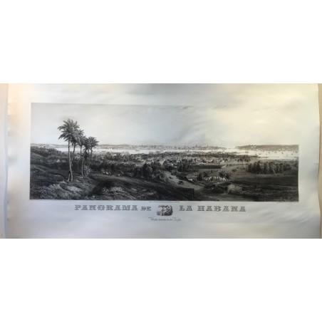 Panorama de la Havane, 1855