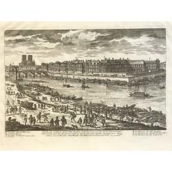 Vue de l'ile Notre Dame, G.Perelle