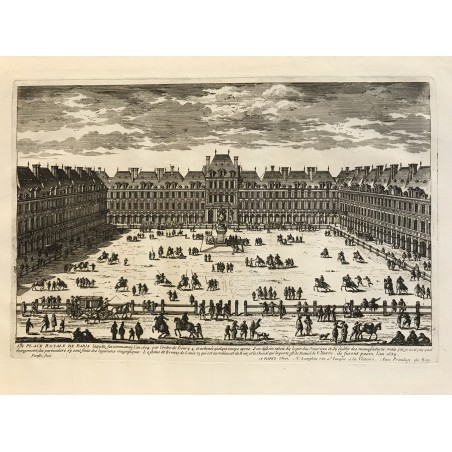 G. Perelle, place Royale de Paris