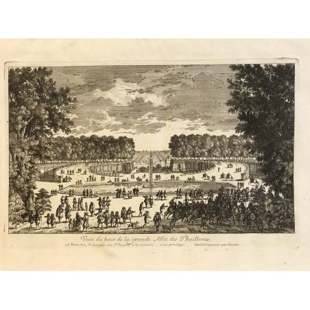 G.Perelle, a grande allée des Tuileries