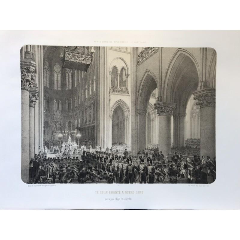 Te Deum chanté à Notre Dame en 1830