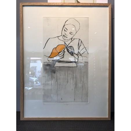 BICH, la mangue, pointe sèche originale