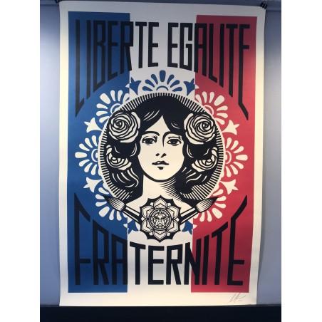 Obey GIANT, Liberté, Egalité, Fraternité 2019