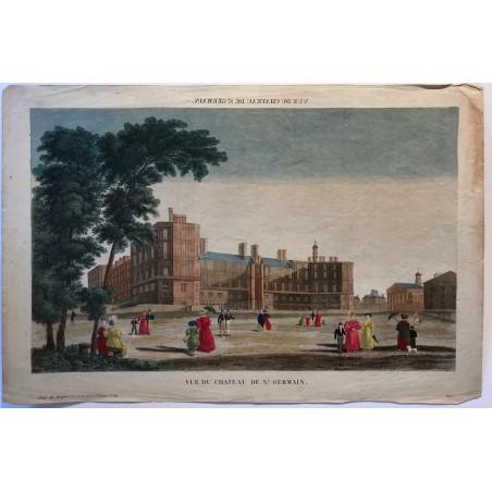 Vue du chateau de Saint Germain
