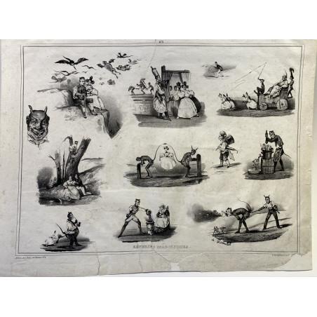 Rêveries diaboliques, Le Poitevin, vers 1860
