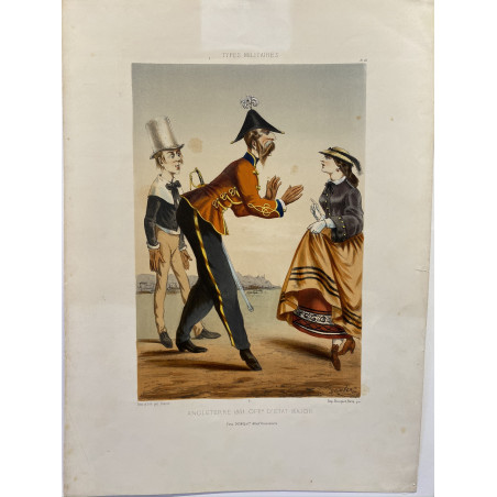 DRANER, types militaires, 1864