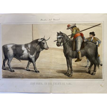 Anales del Toreo, Velasquez y Sanchez, 1888