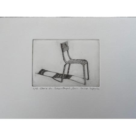 Corinne LEPEYTRE, Chaise du Palais Royal.