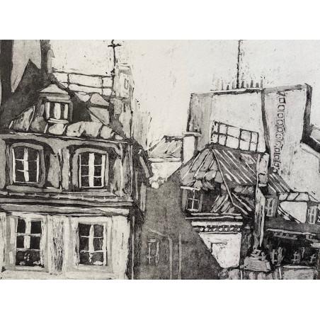 Corinne LEPEYTRE, Rue Saint Honoré.
