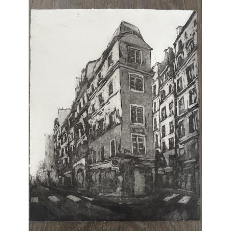 Corinne LEPEYTRE, Rue Beauregard, Paris.