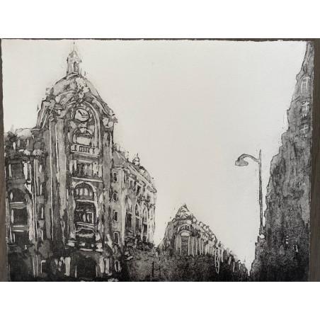 Corinne LEPEYTRE, Rue Réaumur, Paris.