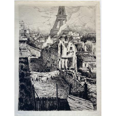 Souvenirs du paris d'hier, Ernest Herscher, 1912, Rue Beethoven
