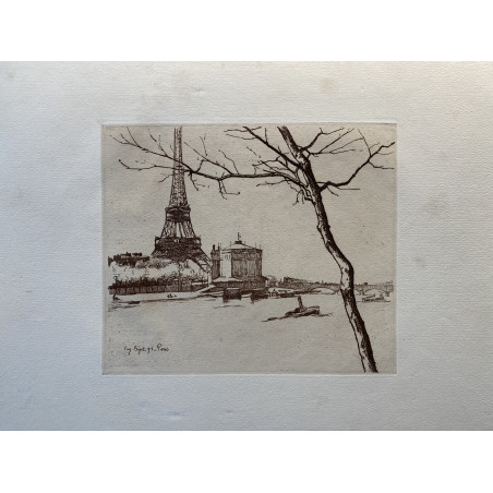 La Seine à Paris, Eugène Béjot, 1896