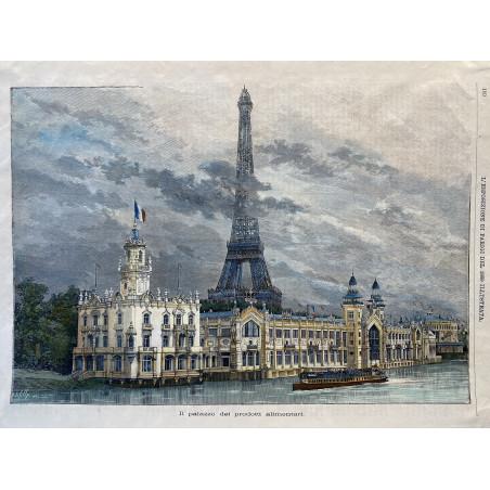 Il palazzo del prodotti alimentari, 1889