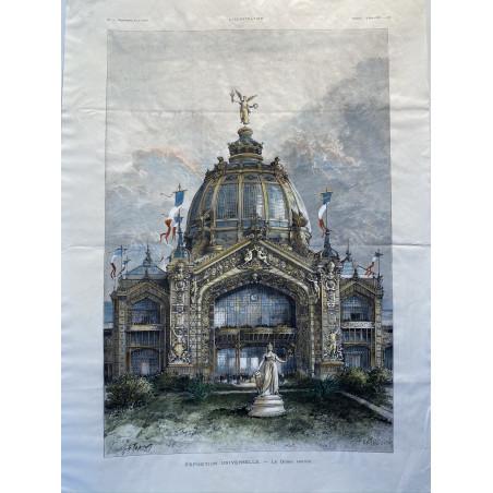 Exposition Universelle, le dôme central, 1889