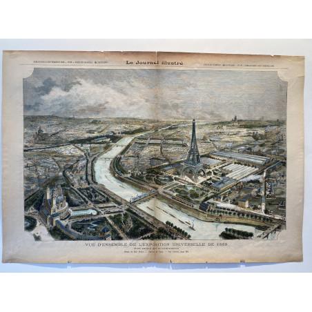 Vue d'ensemble de l'exposition universelle de 1889
