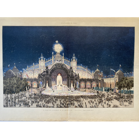 L'exposition de Paris, 1900