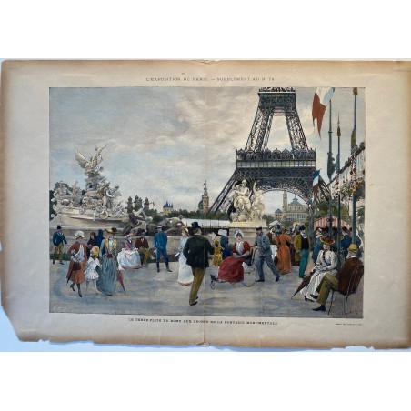 L'exposition de paris 1889