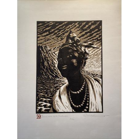 Femme noire de la Martinique.