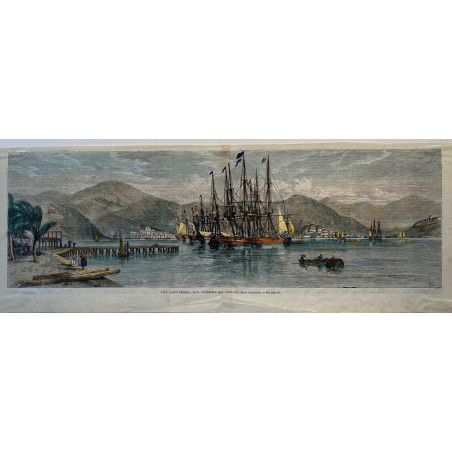 L'ile St Thomas, dans l'archipel des Antilles
