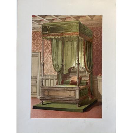 Le style renaissance, lithographie, 1900
