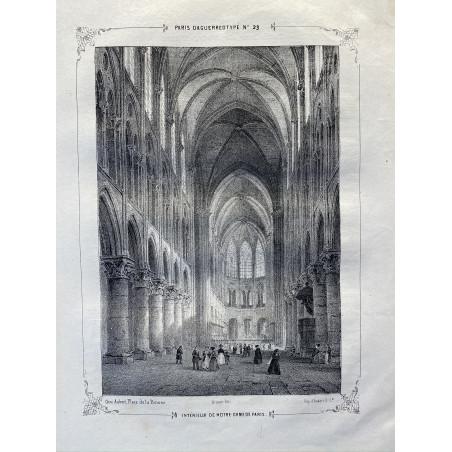 Paris Daguerrotypé, 1840
