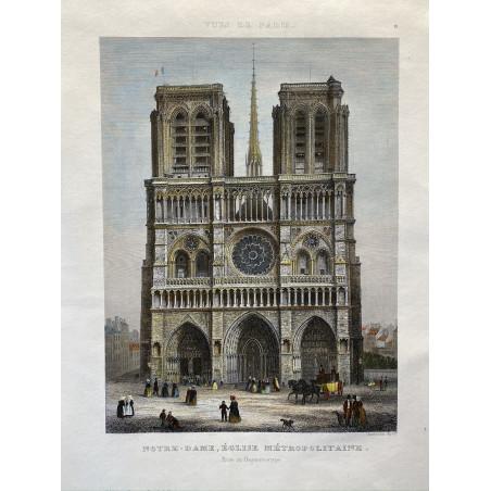 Vue de Paris, Chamouin, 1860