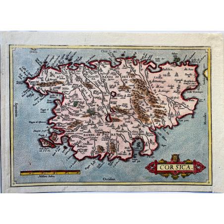 Corsica, Abraham Ortélius, 1573