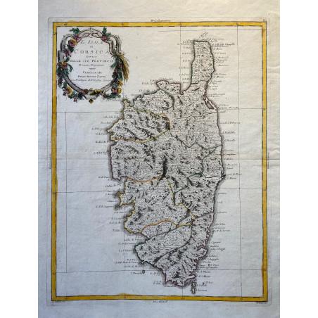 Isola di Corsica, 1782