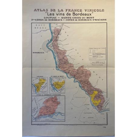 Atlas de la France Vinicole, Louis Larmat.