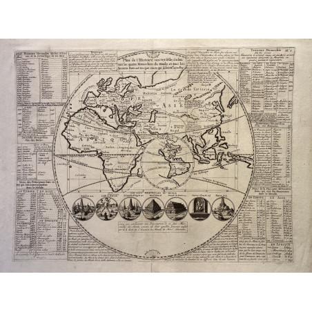 Mappemonde, Hemisphère Est