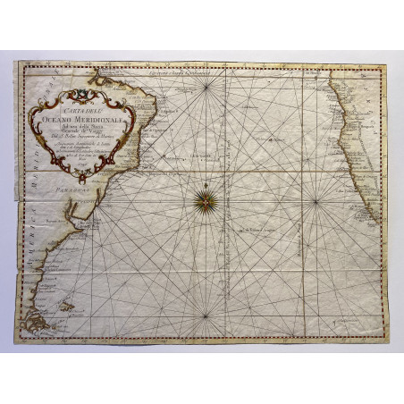 Carte de l'Océan Atlantique, Bellin, 1746