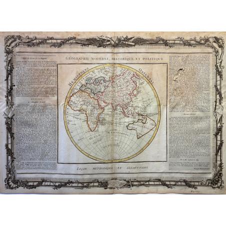 Géographie moderne et historique, Desnos, 1790