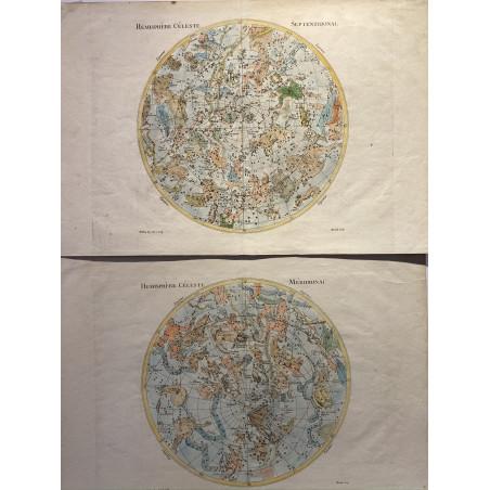 Carte du ciel, Moithey, vers 1770
