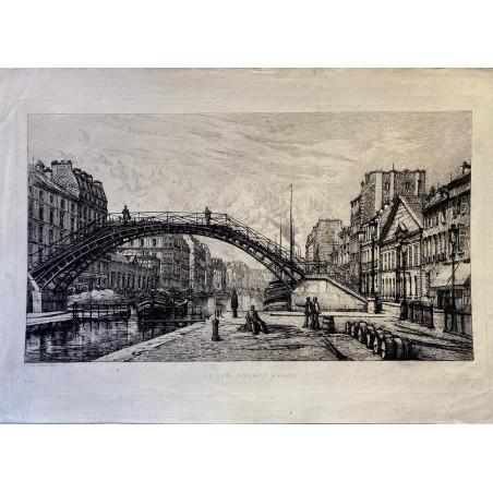 Le quai de Jemmapes à Paris