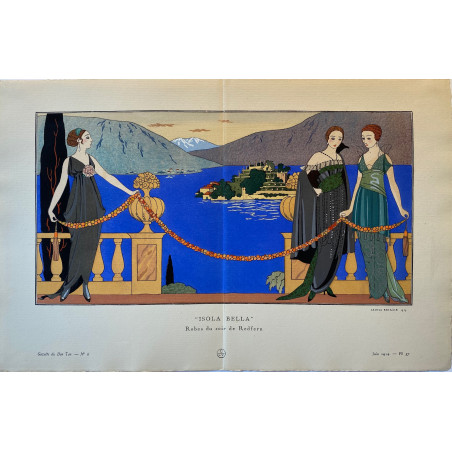Isola Bella, Georges Barbier, 1914