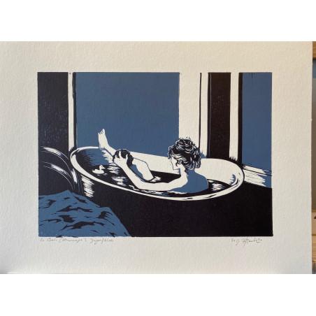 Le bain (Hommage à Degas)