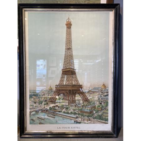La tour Eiffel, Louis Tauzin, 1889