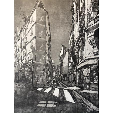 Rue de l'échaudé, Saint Germain, Paris