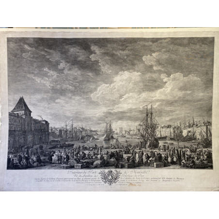 Joseph VERNET , les ports de France, Marseille
