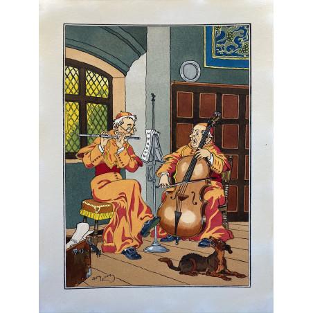 Harry ELIOTT, les moines musiciens.